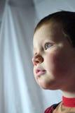 Pojke som ser ledsen Royaltyfri Foto