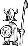 pojke viking Arkivfoto
