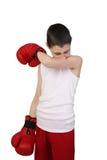 Pojkeboxare Royaltyfri Bild