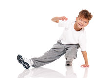 Pojkedans Arkivfoto
