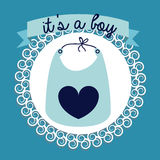 Pojkedesign Royaltyfri Bild