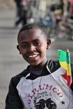pojkeethiopia ethiopian stolt Arkivfoto