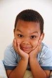 pojkeförträning Royaltyfria Bilder
