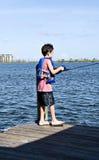 pojkefiske Royaltyfria Bilder
