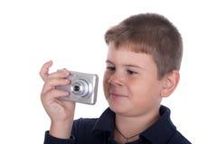 pojkefotografier Arkivbild