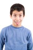 Pojkeframsidor Fotografering för Bildbyråer