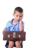 pojkegrundskola för barn mellan 5 och 11 år Royaltyfria Foton