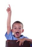 pojkegrundskola för barn mellan 5 och 11 år Royaltyfri Bild