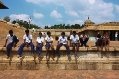 pojkegrupp Arkivfoton