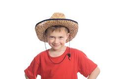 pojkehatt Fotografering för Bildbyråer