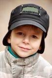 pojkehatt little le för stående Royaltyfria Foton
