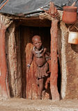 pojkehimba namibia Arkivfoton