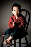 pojkekorean Royaltyfri Bild