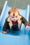 pojkelekplats Royaltyfri Bild