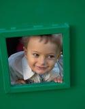 pojkelekplats Arkivbild