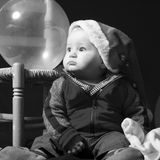 pojkelitet barn Arkivfoto