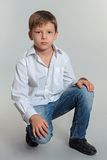 Pojkemodell Royaltyfri Bild