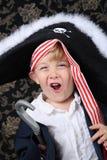 pojken piratkopierar Royaltyfri Foto