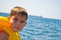 pojkeomslagslivstid Fotografering för Bildbyråer