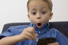 pojkepalmtop fotografering för bildbyråer