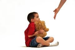 pojkeproblem Fotografering för Bildbyråer