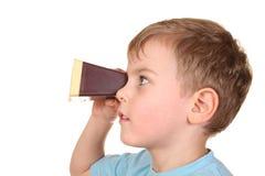 pojkeprojektorstordia arkivfoto