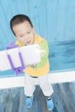 Pojkesjälvskott Royaltyfri Bild