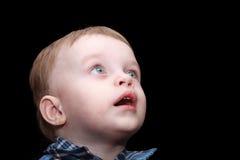 pojkeståendebarn Royaltyfria Bilder
