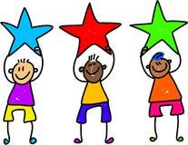 pojkestjärna Royaltyfria Bilder