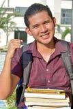 Pojkestudent Winner royaltyfria foton