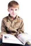 pojkestudy Fotografering för Bildbyråer