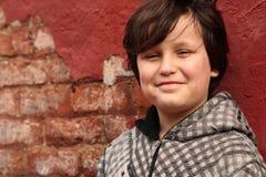 pojketween Fotografering för Bildbyråer