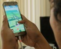 Pokémon идет игры Стоковое Изображение RF