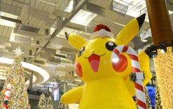 Pokémon bij Changi Luchthaven Stock Fotografie