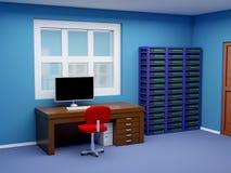 Pokój administrator systemu Obraz Stock