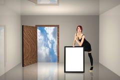 pokój billboardu Obrazy Stock