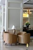 pokój czeka kanapy Obraz Royalty Free