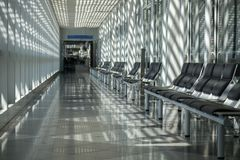 pokój czeka na lotnisko Obraz Royalty Free