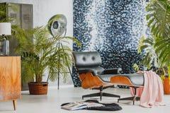 Pokój dekorujący w rocznika stylu Zdjęcia Stock