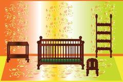 Pokój dla dziecka royalty ilustracja
