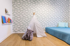 Pokój dla dziecka zdjęcia royalty free