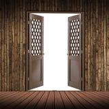 pokój drewniany Obraz Stock