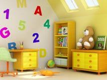 pokój dziecięcy Zdjęcie Royalty Free