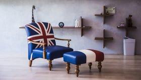 pokój dzienny nowoczesnego Obraz Royalty Free
