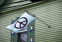 Pokój flaga zdjęcia royalty free