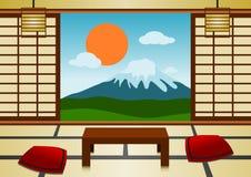 pokój japoński Fotografia Royalty Free