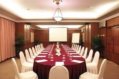 pokój konferencyjny Zdjęcia Royalty Free