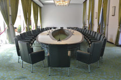 Pokój Konferencyjny w Prezydenckim pałac Ho Chi Minh Zdjęcia Stock