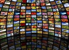 pokój mediów Zdjęcie Stock