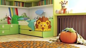 Pokój, nowy pokój dla dzieci Zdjęcie Royalty Free